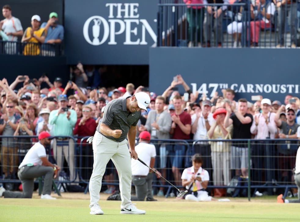 The Open at Carnoustie boosted the Scottish economy by £120m