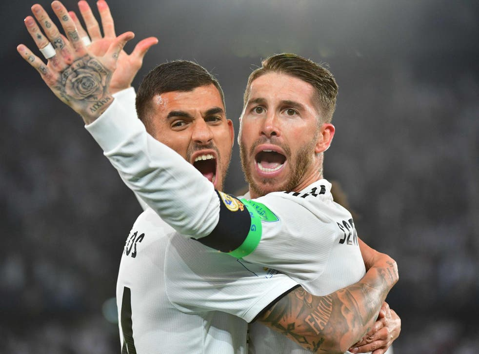 Sergio Ramos has demanded more 'respect' after being booed in the Fifa Club World Cup final