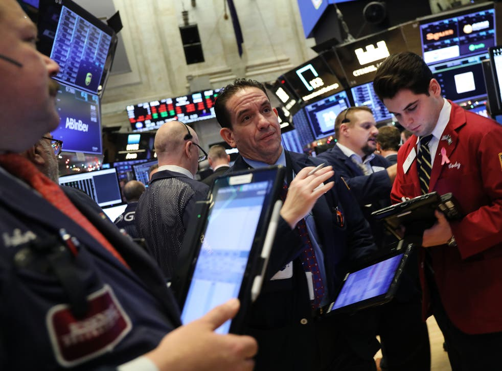 US stocks have fallen sharply in recent weeks on concerns over slowing economic growth, with the S&P 500 index on pace for its biggest percentage decline in December since the Great Depression