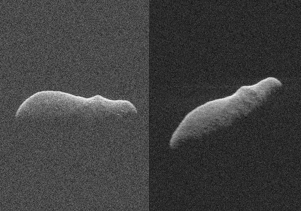 hippo shaped asteroid skims past earth on closest approach for 400