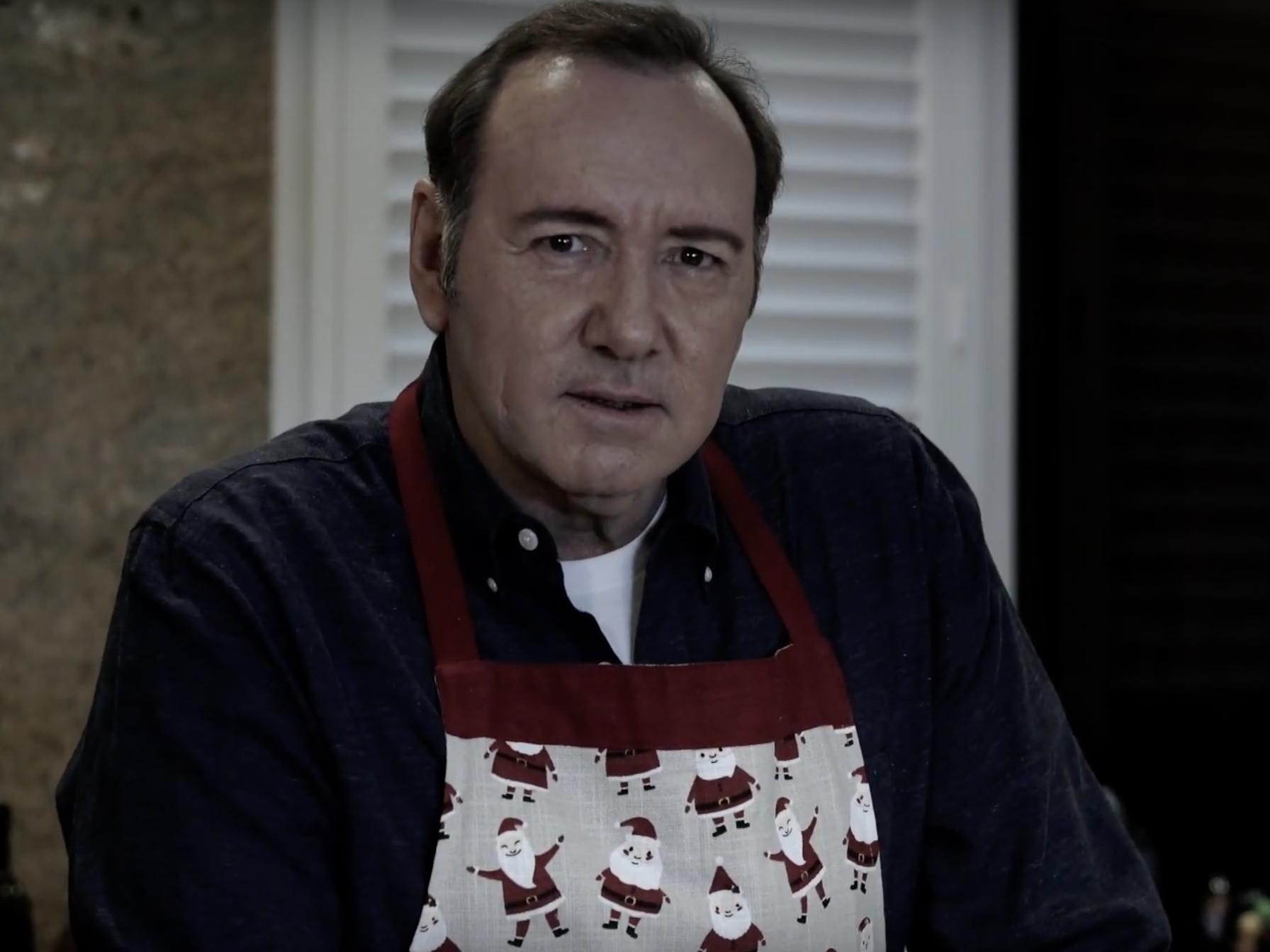 Kevin Spacey releases 'creepy' video as Frank Underwood sparking widespread bewilderment