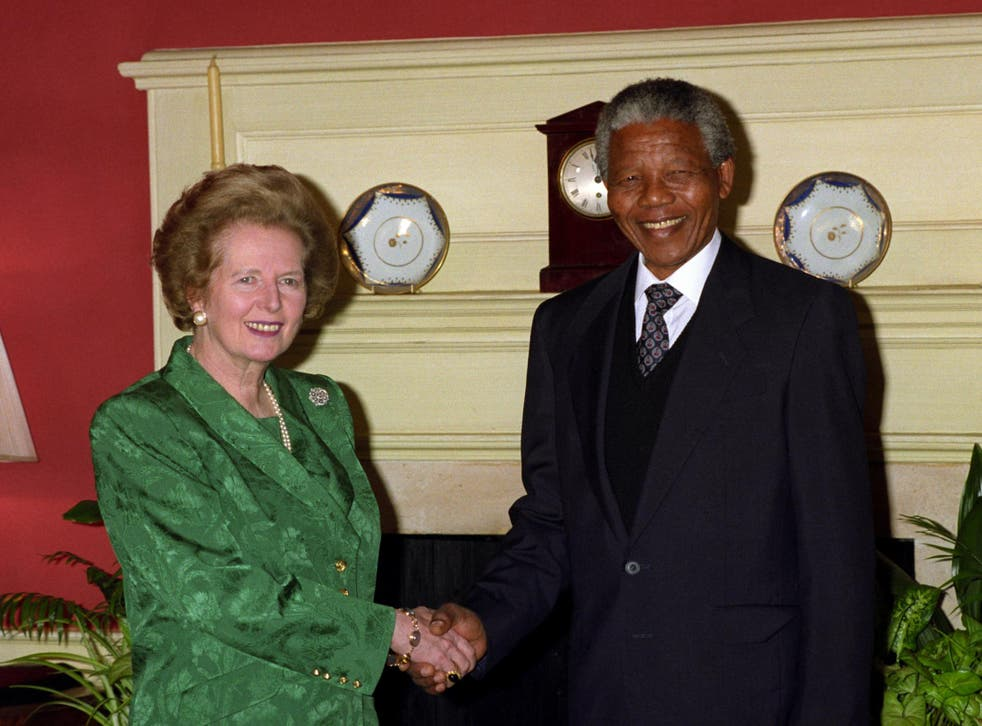 Thatcher supported the racist apartheid regime and thought Mandela had a 'rather a closed mind'