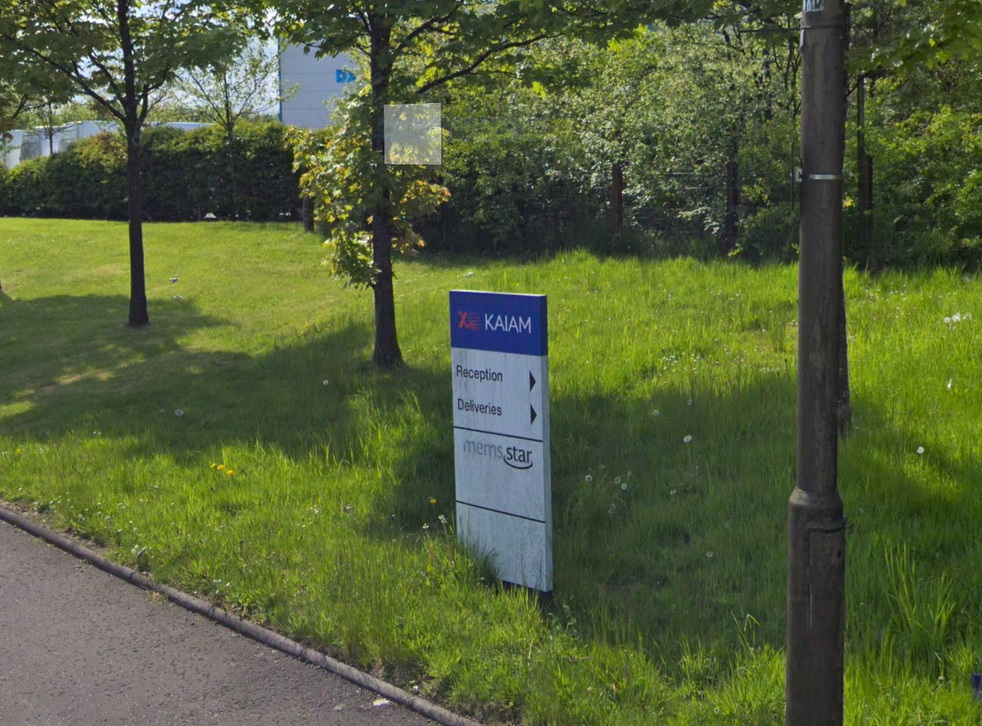 More than 300 employees have been made redundant from Kaiam's factory in Livingston, Scotland