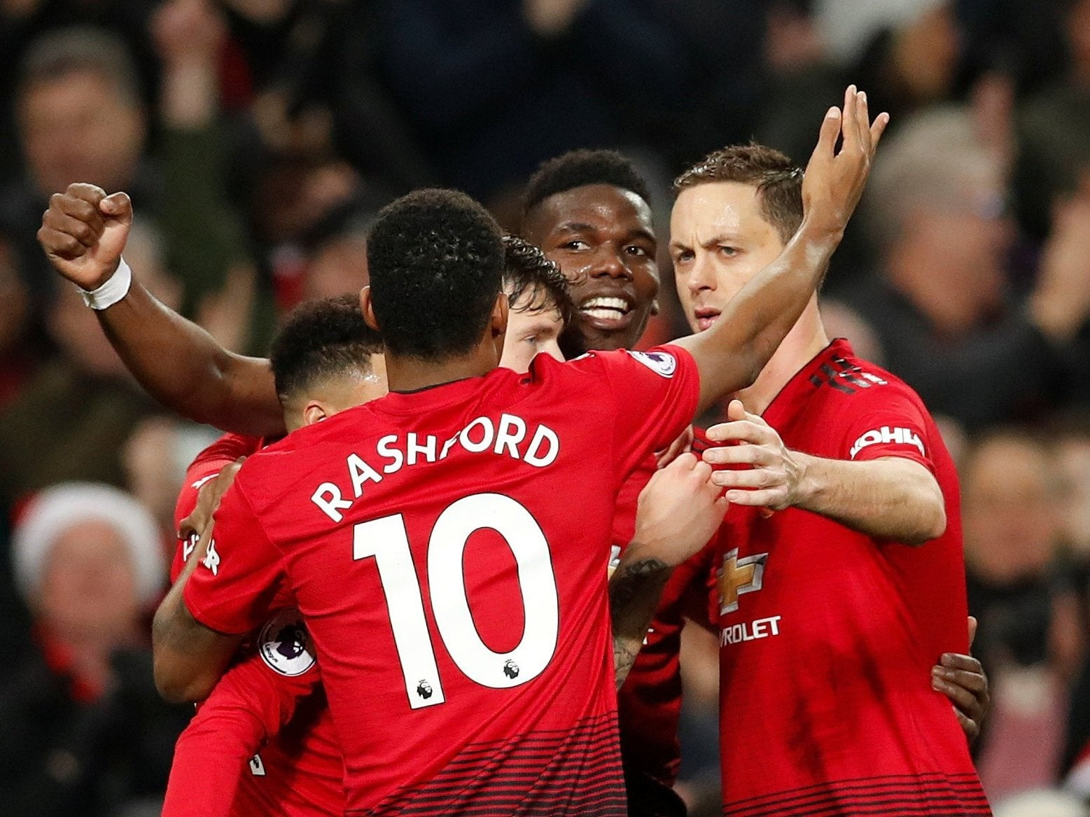 8539f6be3 Manchester United vs Huddersfield Town  Paul Pogba double keeps Ole Gunnar  Solskjaer s side on the up