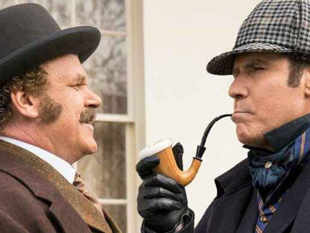 1a1e7561705 Holmes   Watson  Will Ferrell and John C Reilly comedy is prompting cinema  walkouts