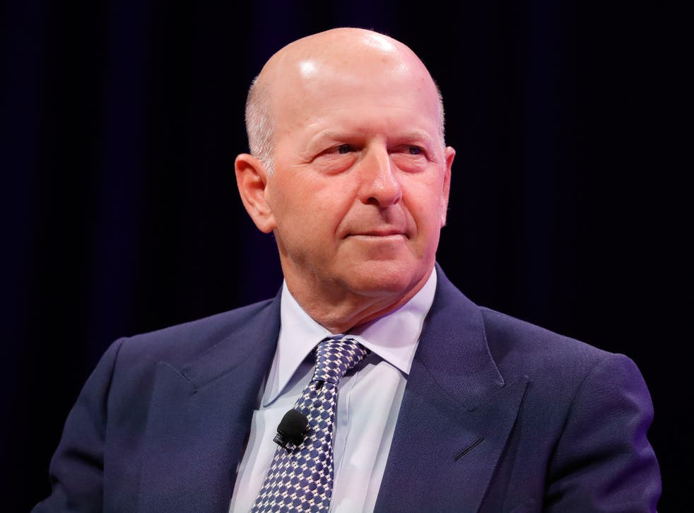 Goldman Sachs president and co-chief operating officer David Solomon in October 2017