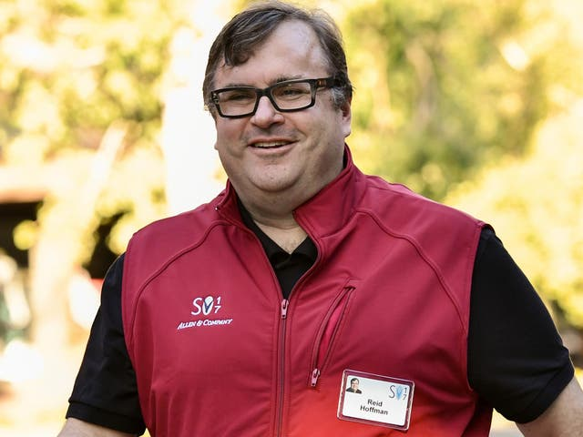Reid Hoffman, co-founder of LinkedIn