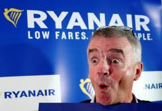 Ryanair voted worst airline for sixth year running