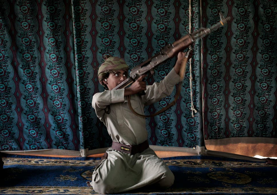 child soldiers from darfur fighting at front line of war in yemen