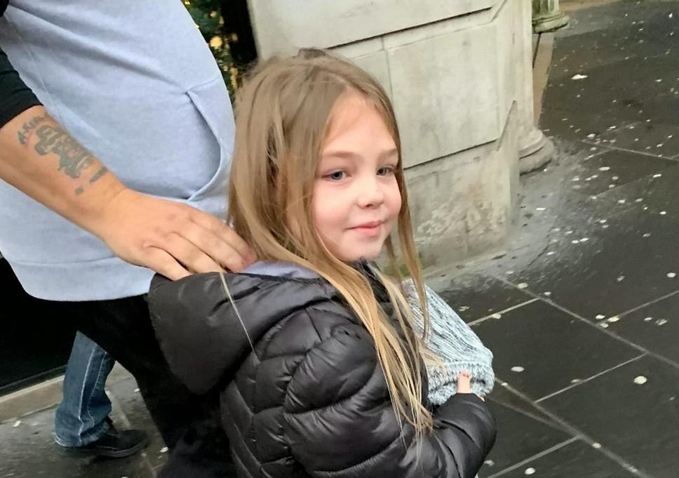 six year old girl spent christmas day giving presents to homeless
