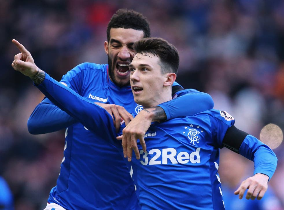 Jack scored the only goal of the game as Rangers moved level on points with their arch-rivals