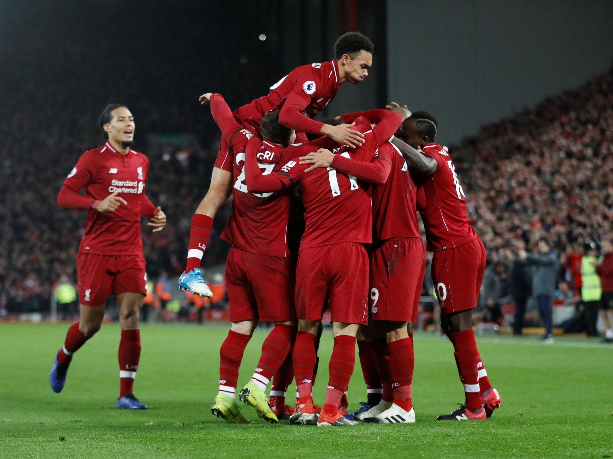 Liverpool Vs Arsenal Winning This Title Could Take Something Special But This Looks Like A Special Team The Independent The Independent