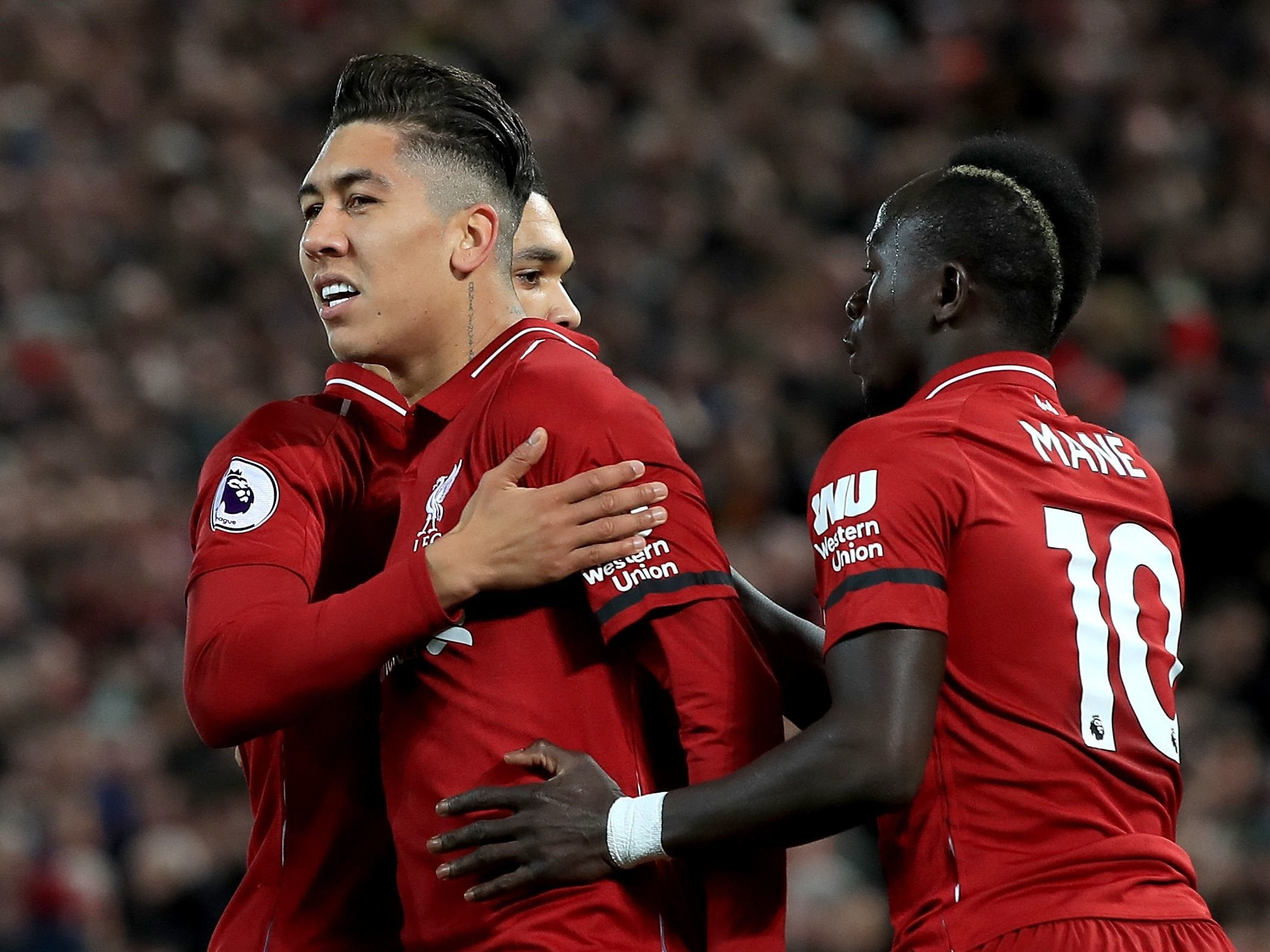 Liverpool Vs Arsenal Jurgen Klopp S Side Extend Premier League Lead With Emphatic Victory The Independent The Independent