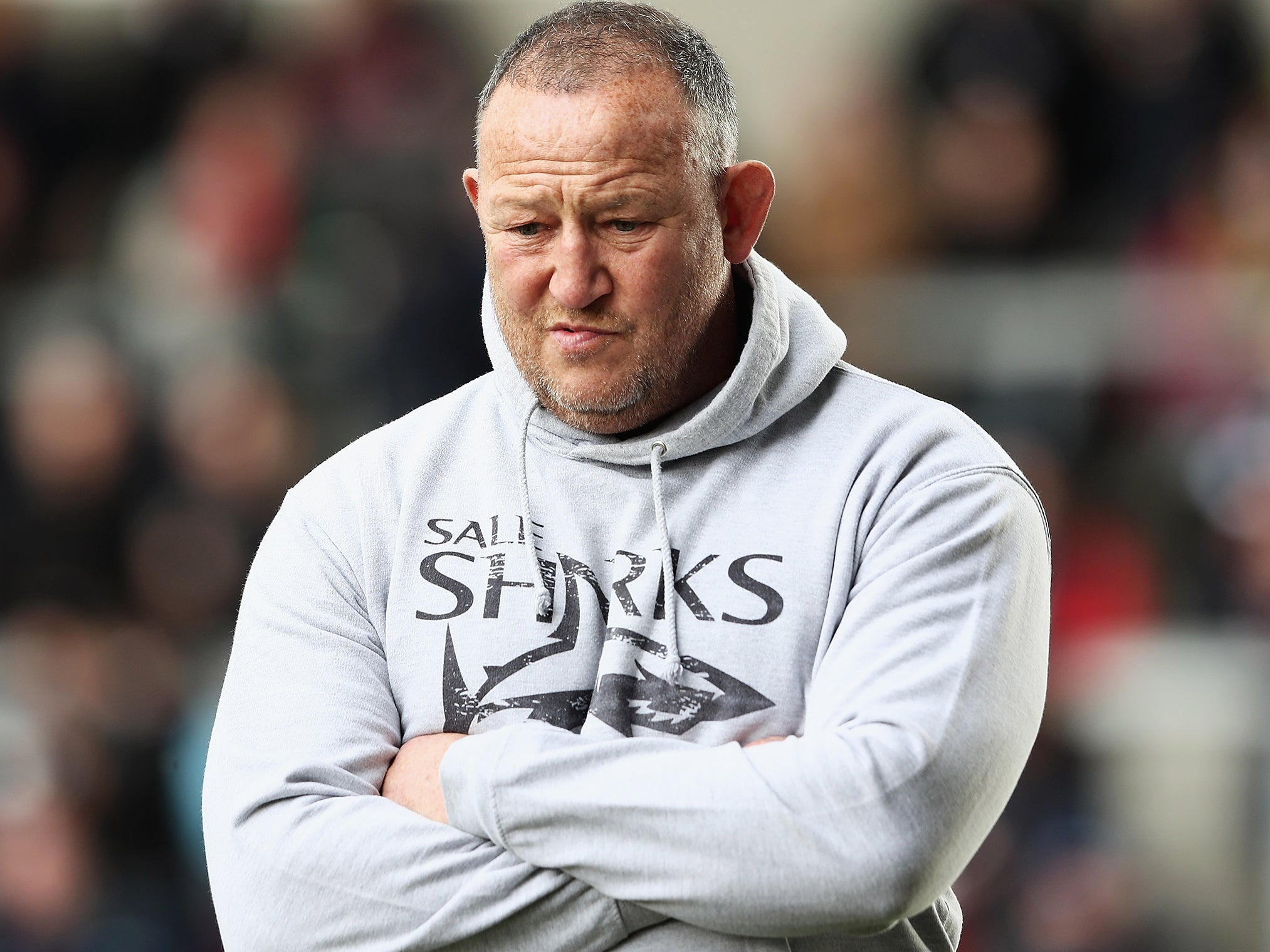 Sale director of rugby Steve Diamond will not face action for altercation with Independent journalist Sam Peters