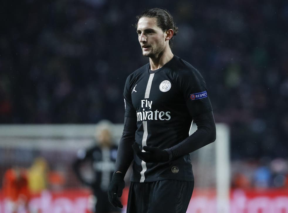 The midfielder's PSG contract expires at the end of the season