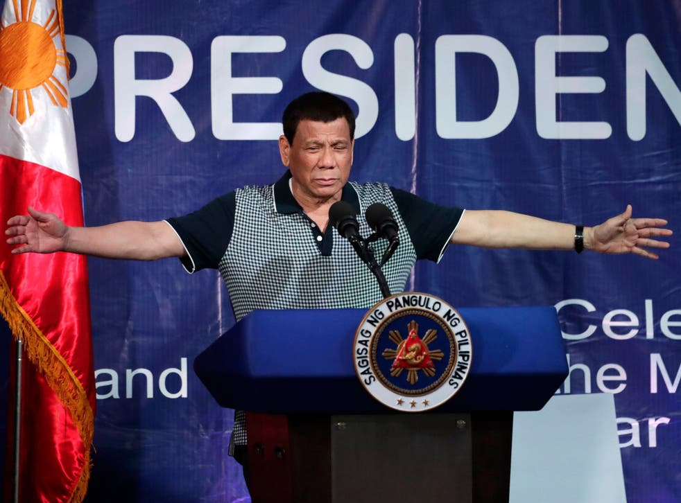 The Philippines president has a long history of making inflammatory remarks about women