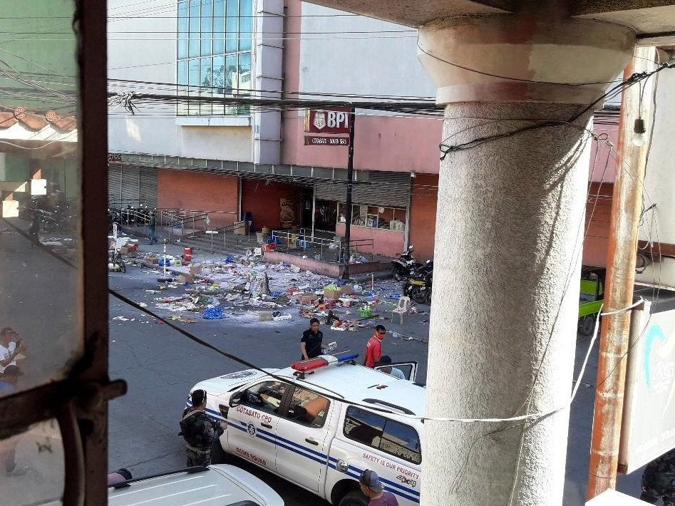 Philippines bombing: Two people killed in attack at Cotabato shopping centre on New Year's Eve