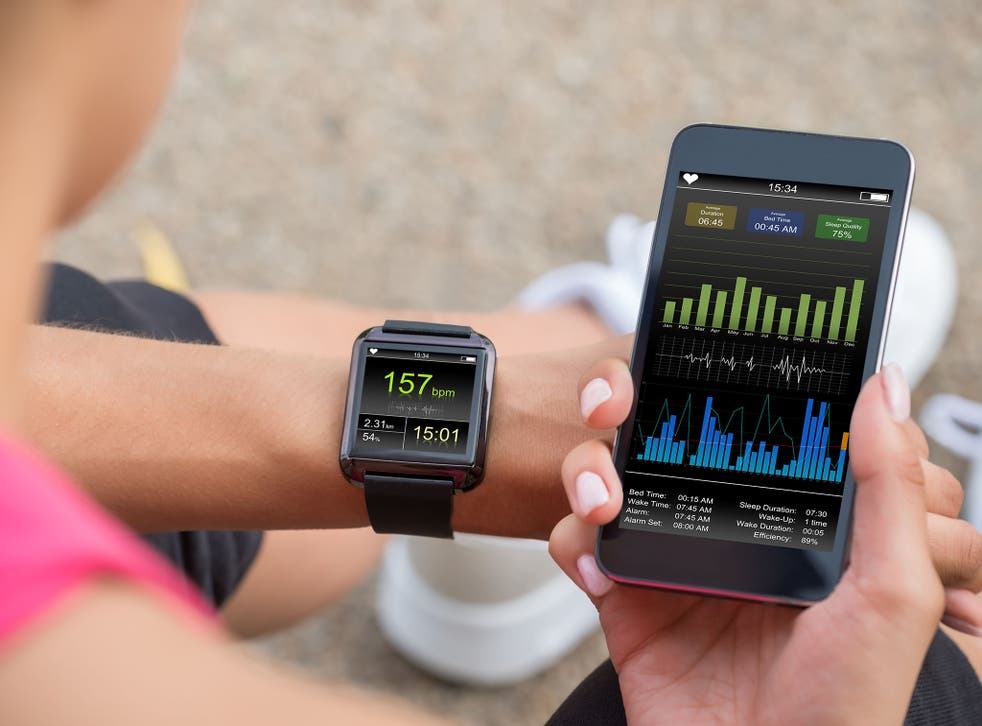 Fitness apps look set to be popular in the new year.