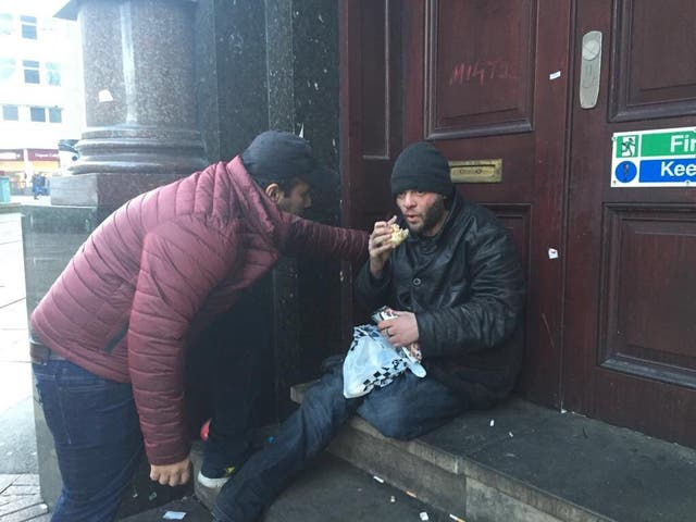 AMYA has distributed an average of 200 meals per day across London this month