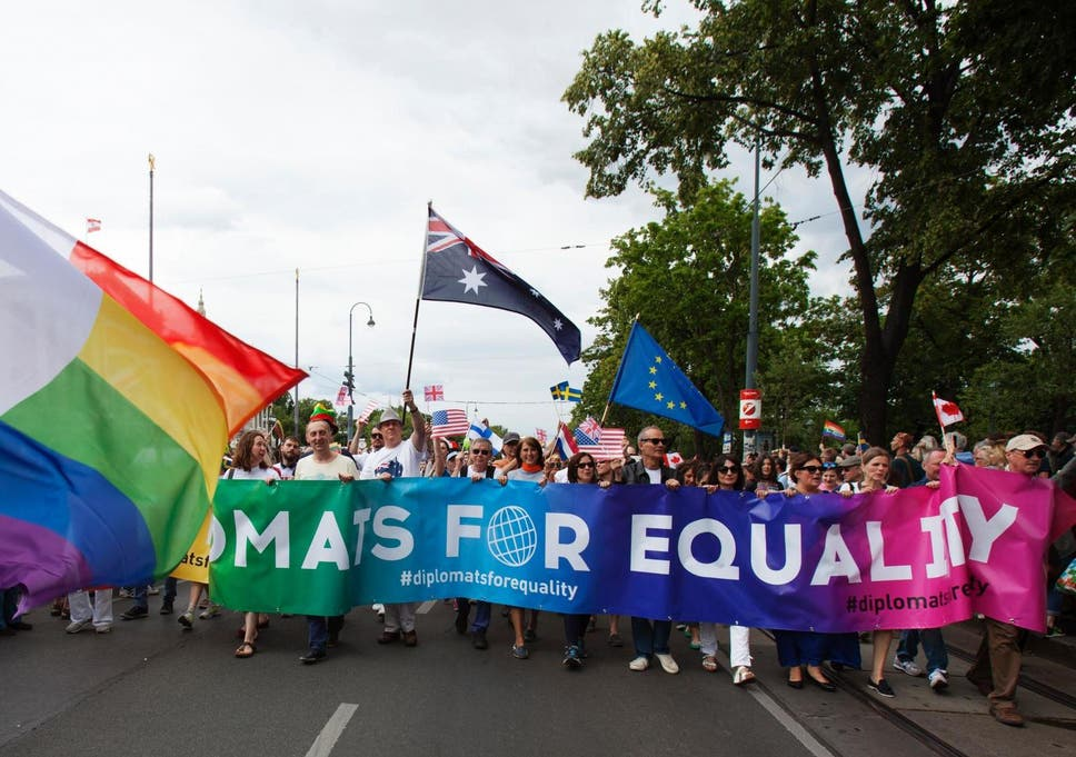 Austrian women become country's first same-sex couple to get