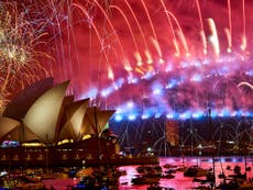 New Year's Eve firework celebrations from around the world