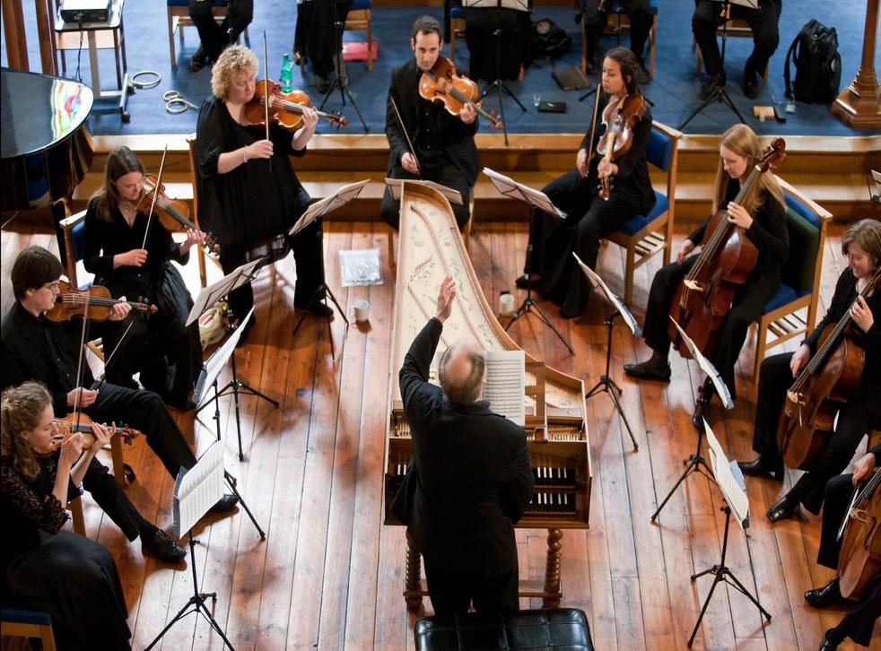 The Dunedin Consort perform Bach (conducted by musical director John Butt)