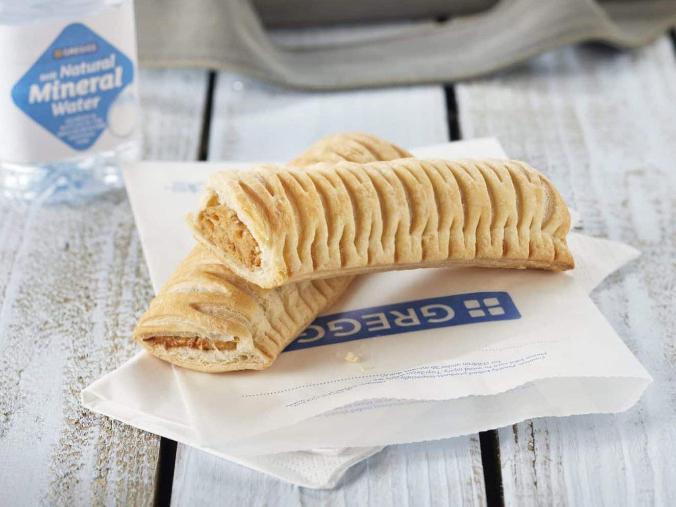 Greggs announces release of vegan sausage rolls nationwide and Twitter describes it as the 'best news ever'