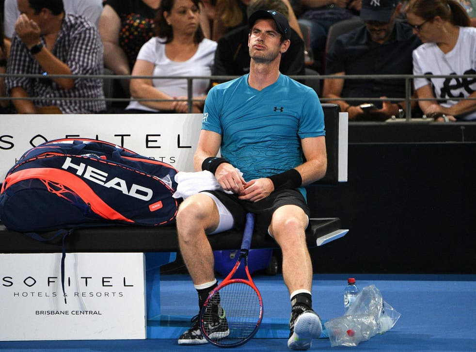 Andy Murray went out in the second round of the competition