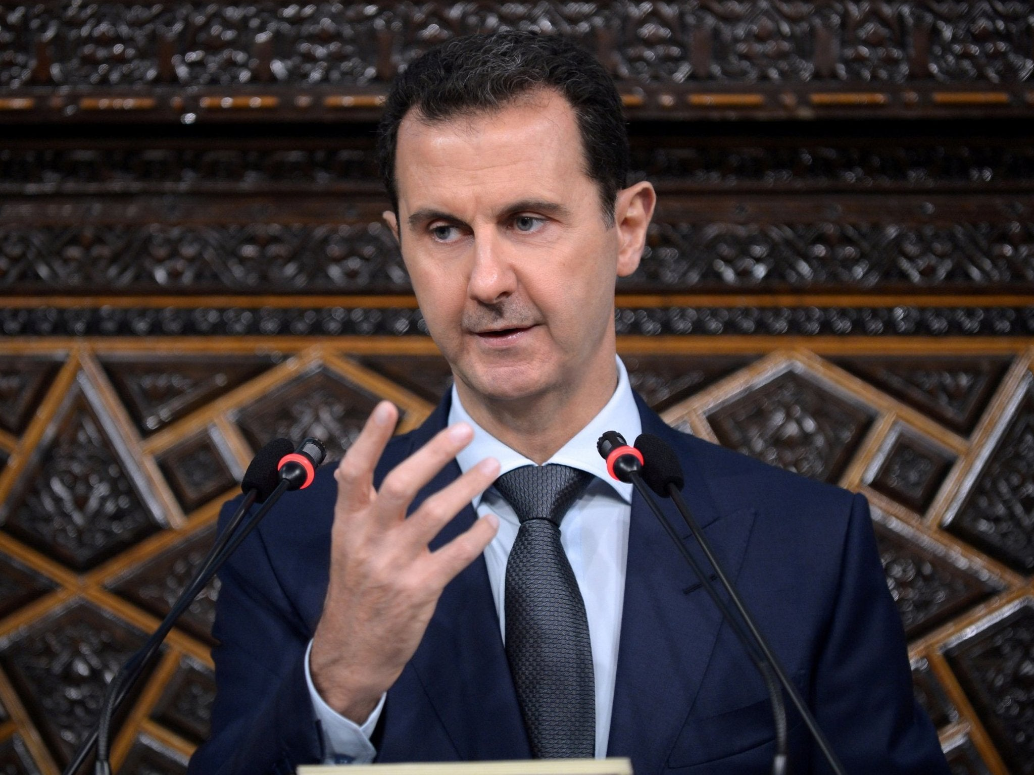 Bashar Al-assad - latest news, breaking stories and comment