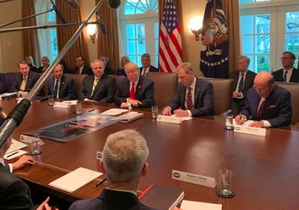 Trump Holds Cabinet Meeting With Game Of Thrones Style Sanctions