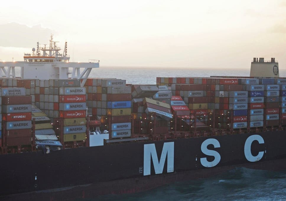Slikovni rezultat za SHIP NORTH SEA CONTAINERS