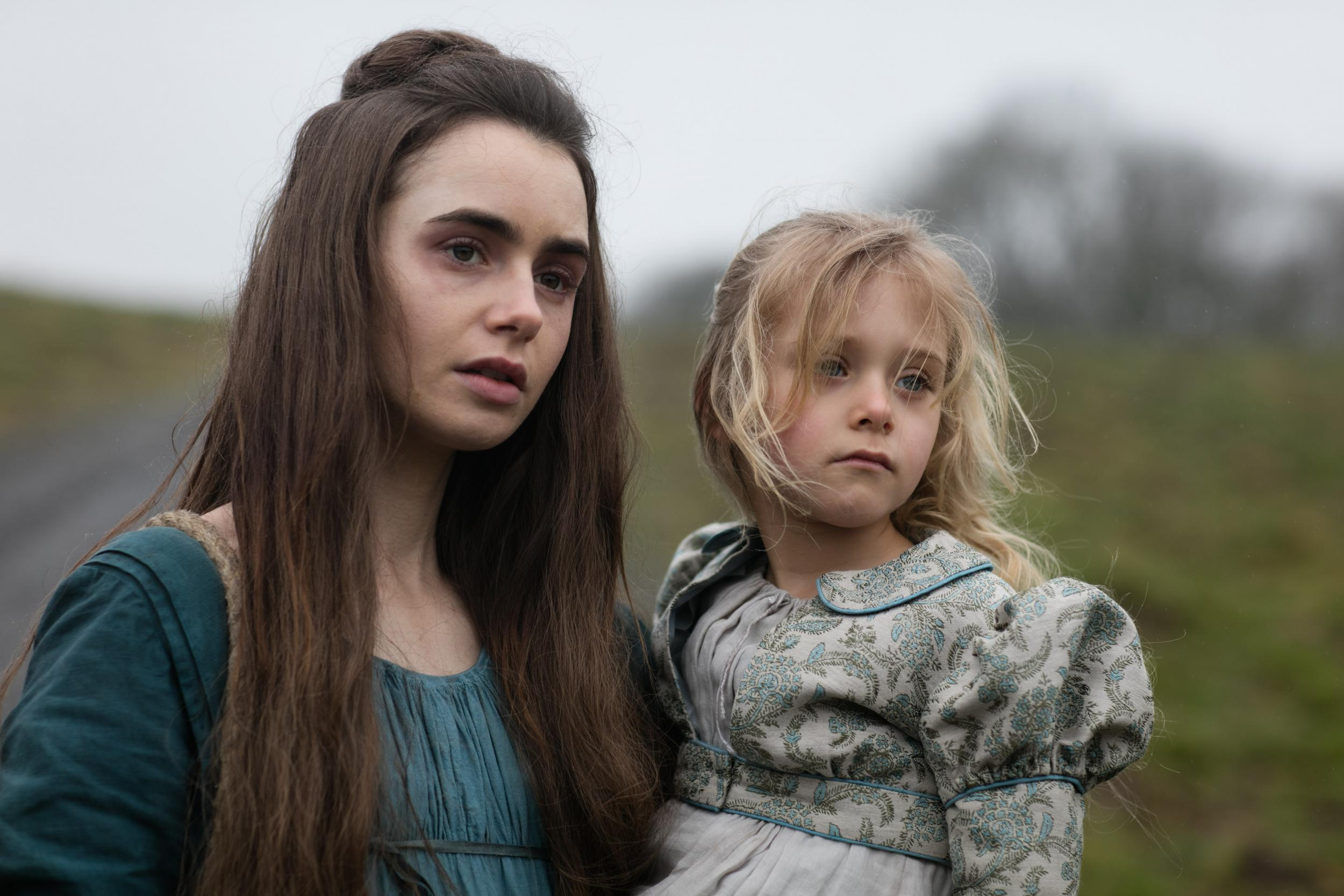 Les Misrables Review Episode Two Lily Collins Plays The Tragic Fantine With Steeliness And Grace
