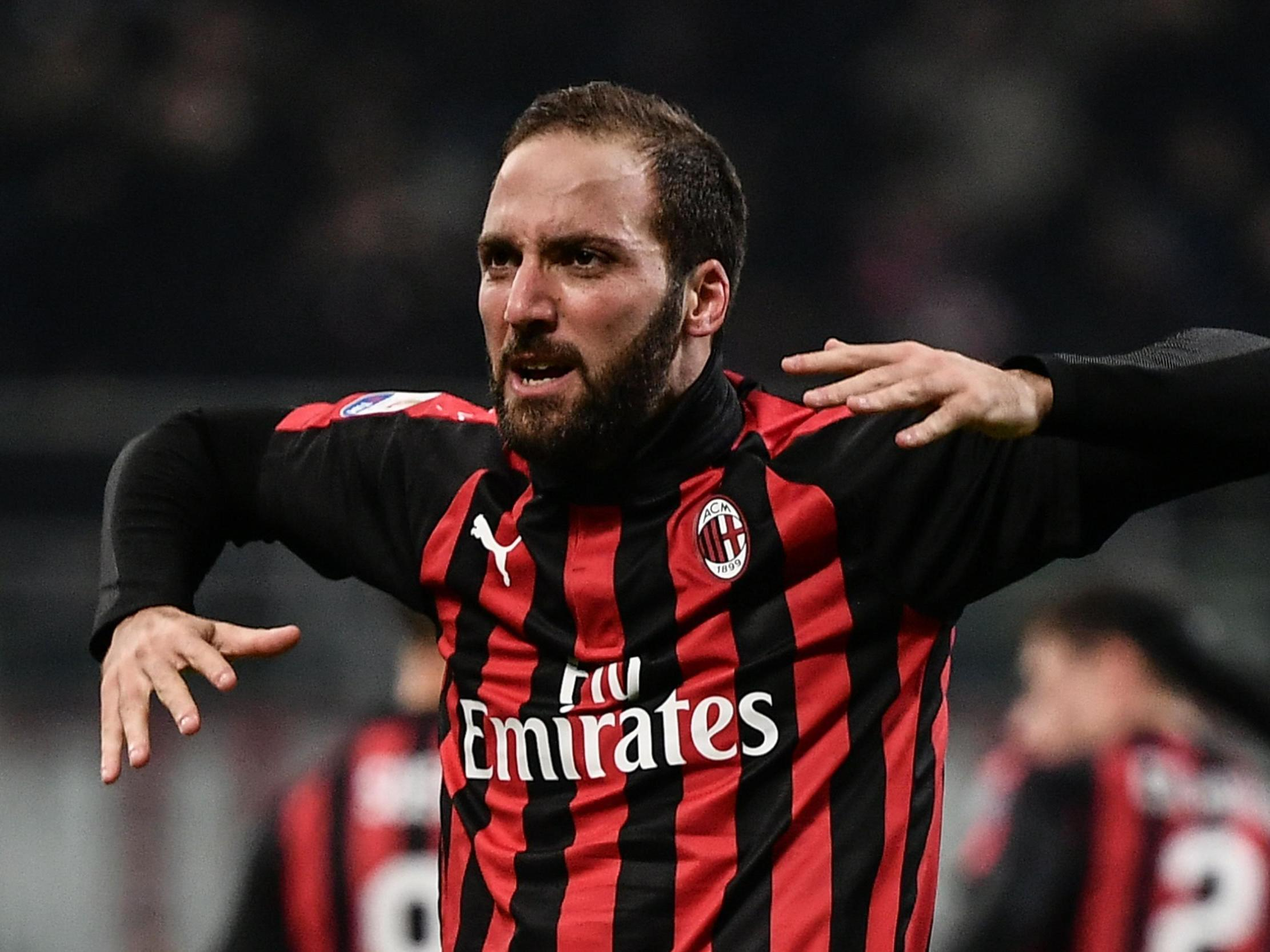 Chelsea transfer news: Gonzalo Higuain move up 'in the air' claim AC Milan