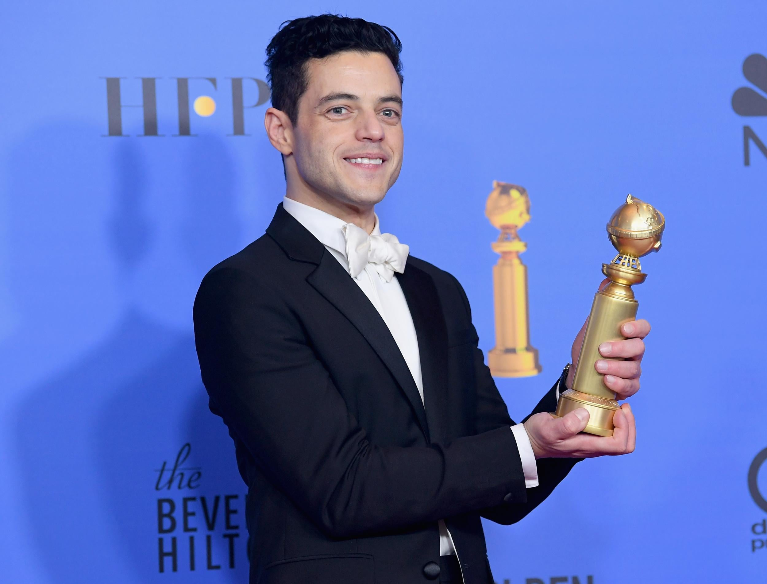 Zerchoo Film - Rami Malek thanks Freddie Mercury during