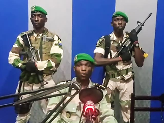 The coup was announced on state radio by a soldier who described himself as the leader of the Patriotic Youth Movement of the Gabonese Defence and Security Forces