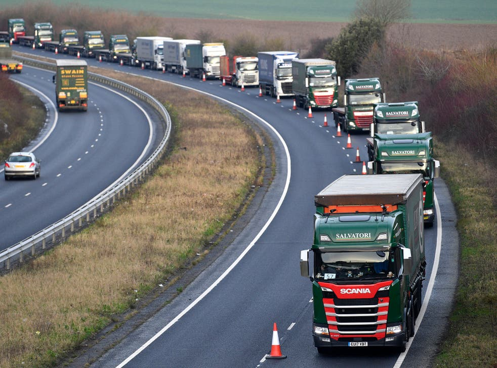 Health secretary Matt Hancock has said gridlock at ports could last as long as six months