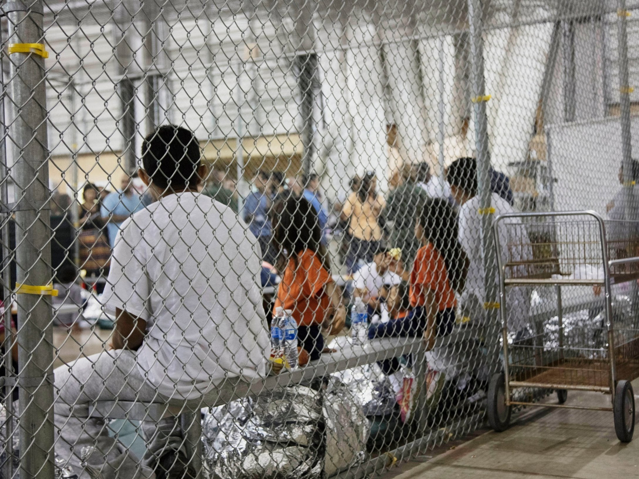 Opinion: Trump's plan to cage kids indefinitely while denying them vaccines is ethnic cleansing in plain sight