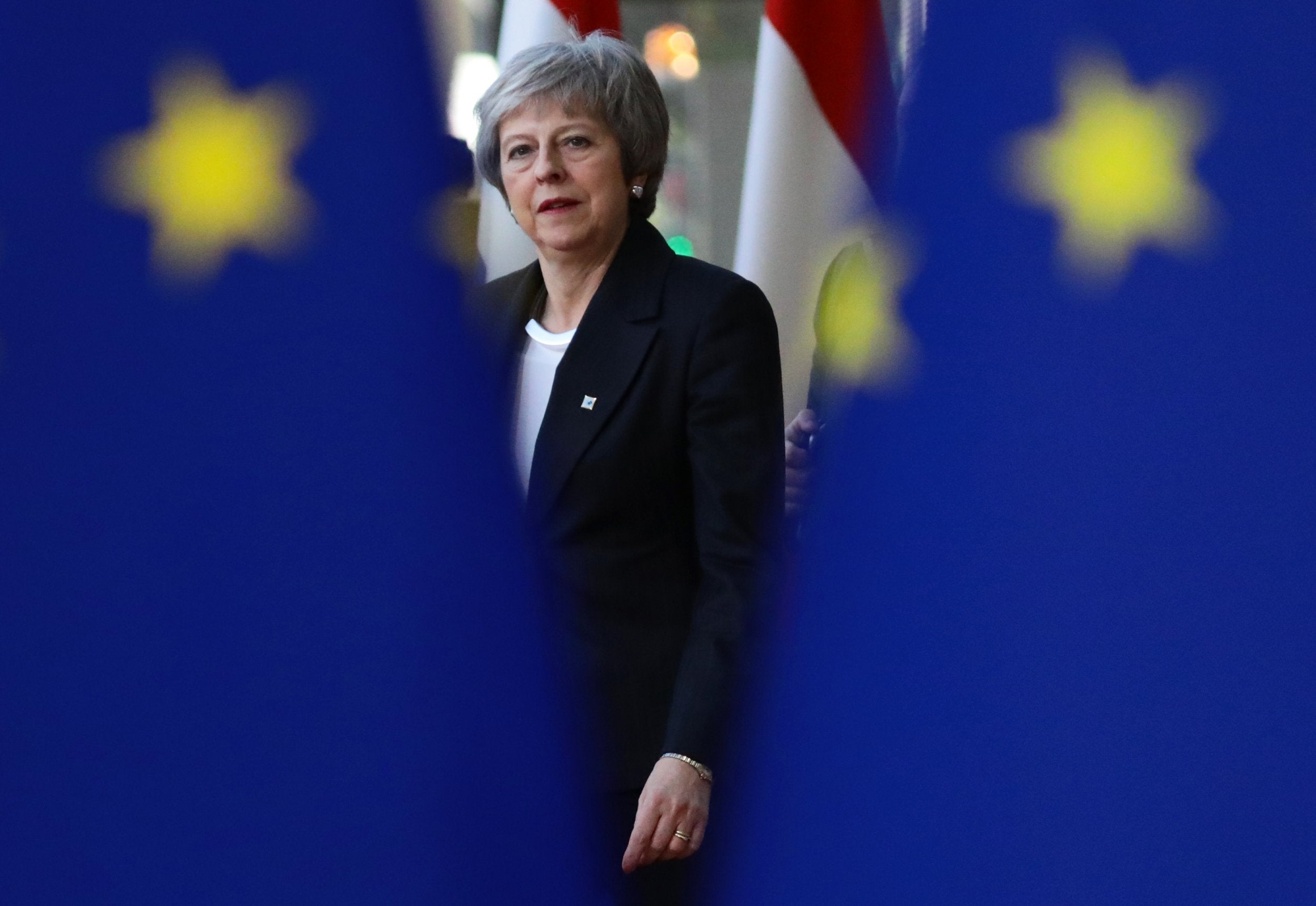 May Wrestles With EU And Tory Rebels In Scramble To Save Brexit Deal