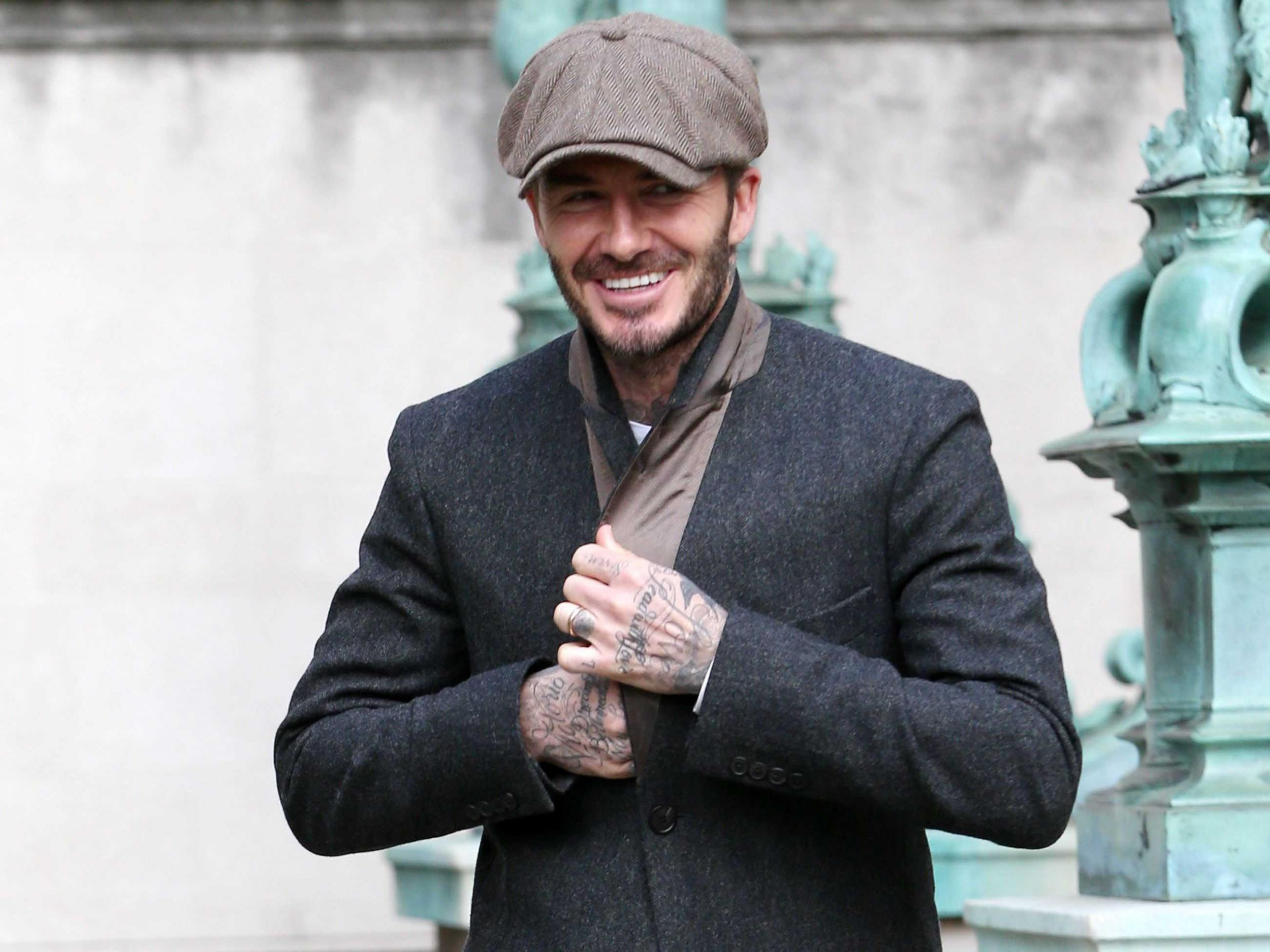 David Beckham To Launch Peaky Blinders Collaboration For