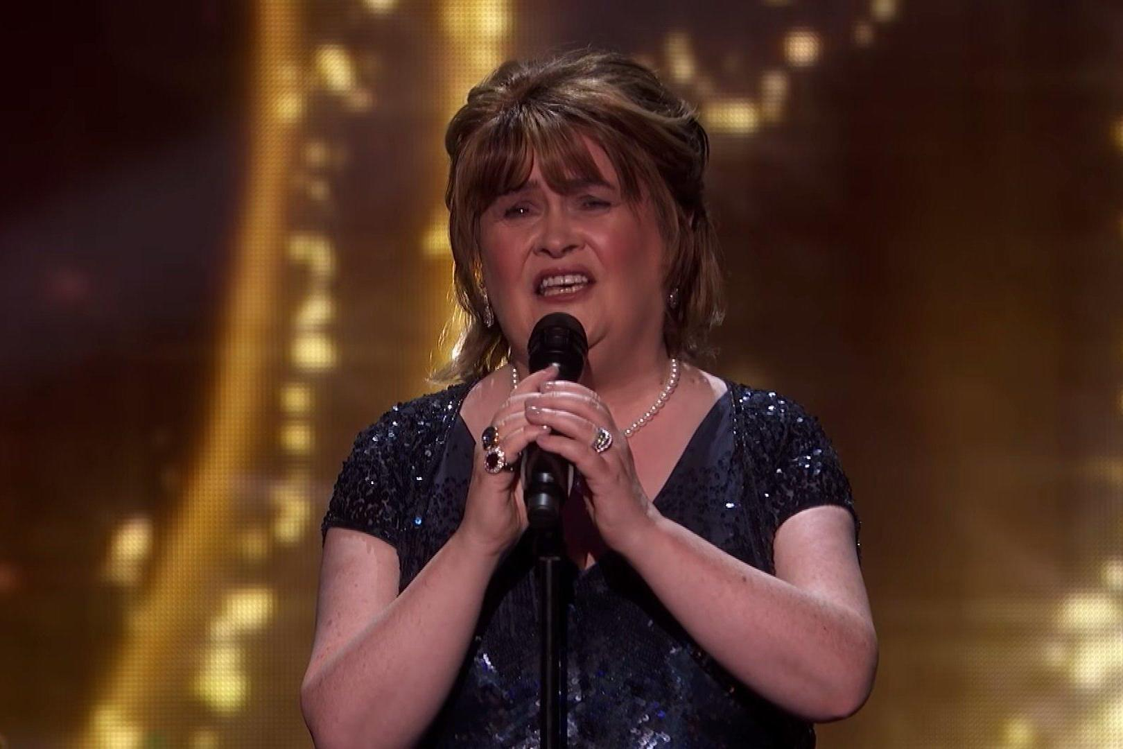 Susan Boyle wins Golden Buzzer on America's Got Talent: The