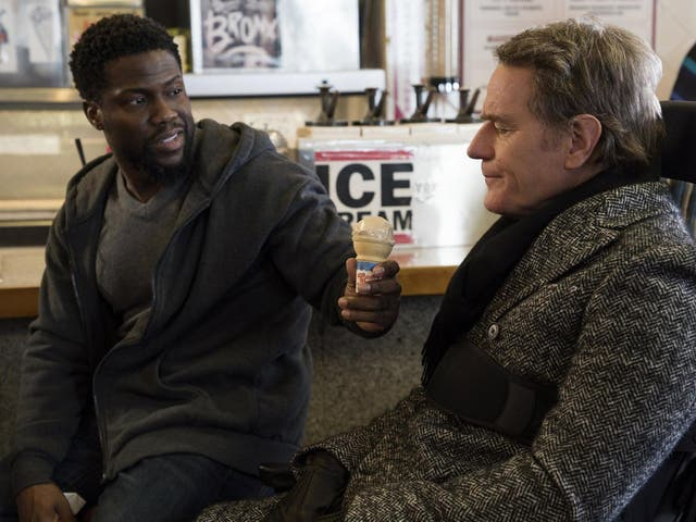 Kevin Hart and Bryan Cranston in 'The Upside'