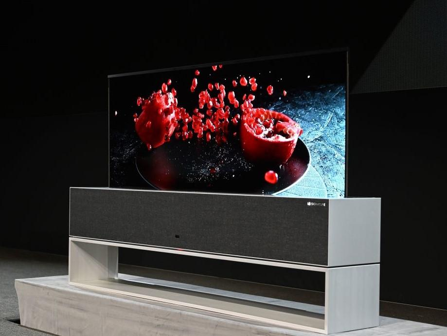 CES 2019: LG introduces futuristic roll-up TVs that disappear in the