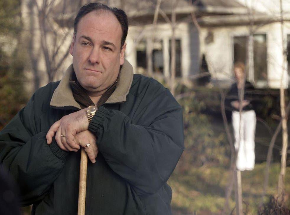 James Gandolfini played protagonist Tony Soprano