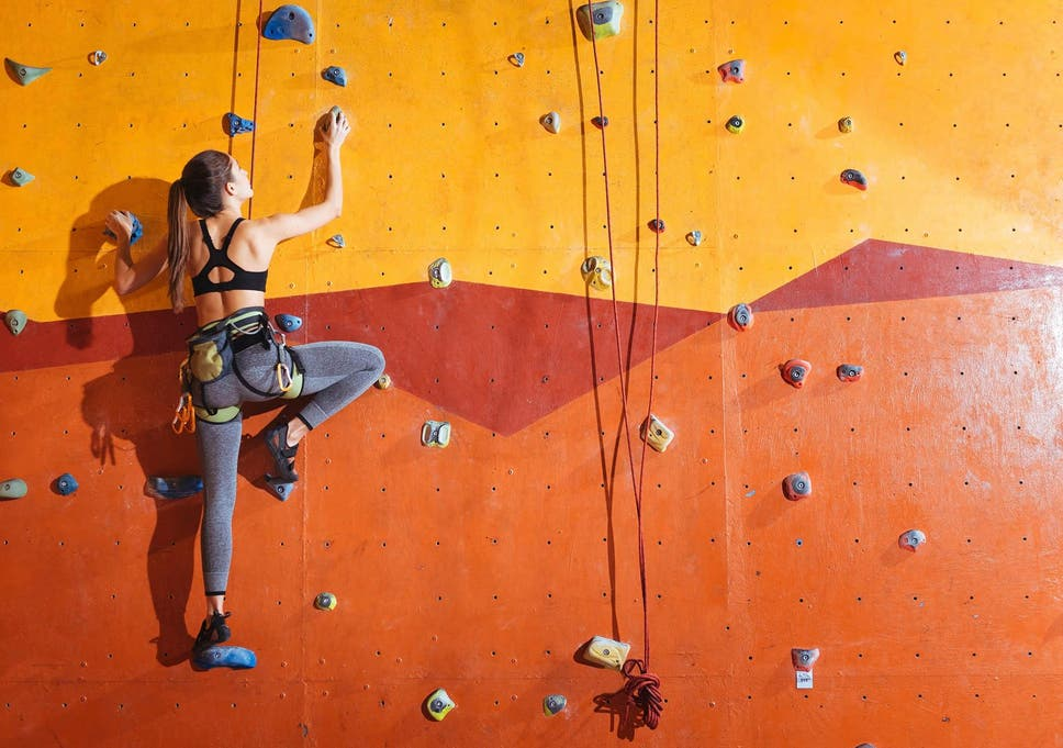 Online dating for rock climbers