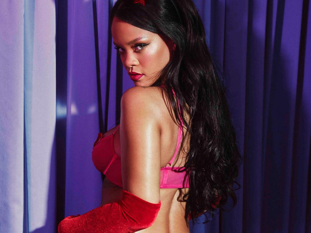 f662feeba5b Rihanna launches size-inclusive Savage x Fenty Valentine s Day collection