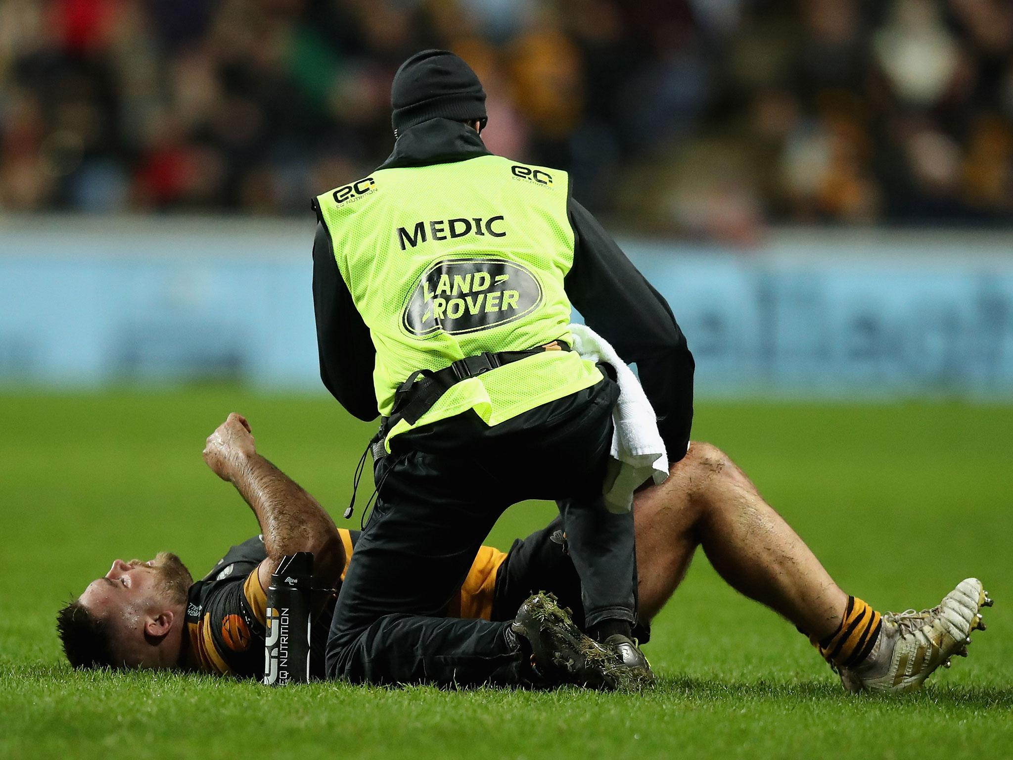 Rugby may need 'significant changes' to reverse rise in injury severity, says head of English rugby medicine