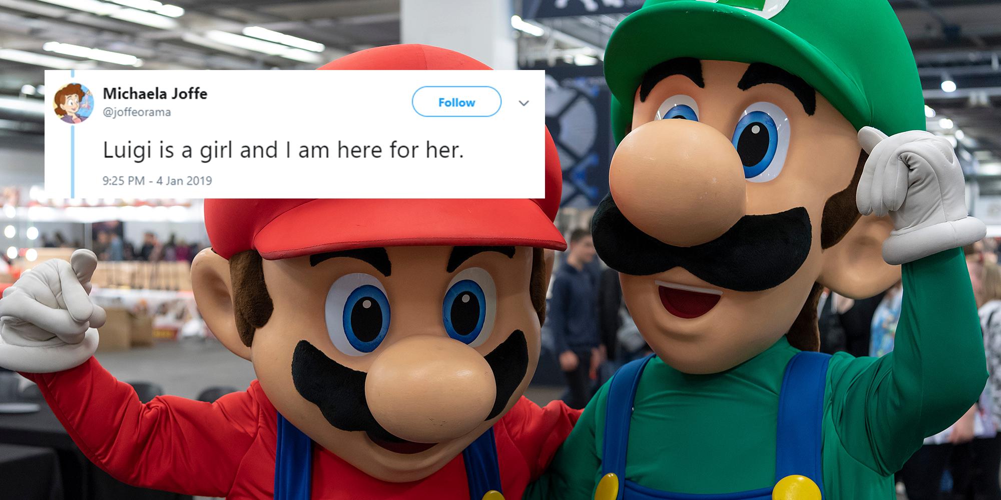 Luigi Is A Trans Woman Say Super Mario Bros Fans Indy100