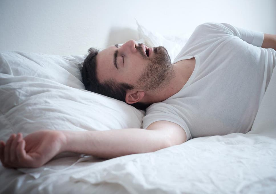 Image result for snoring