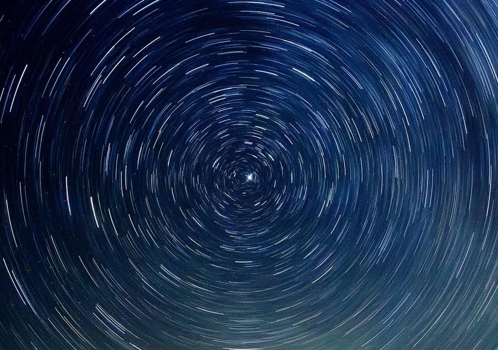 Risultati immagini per vortex of stars around north pole