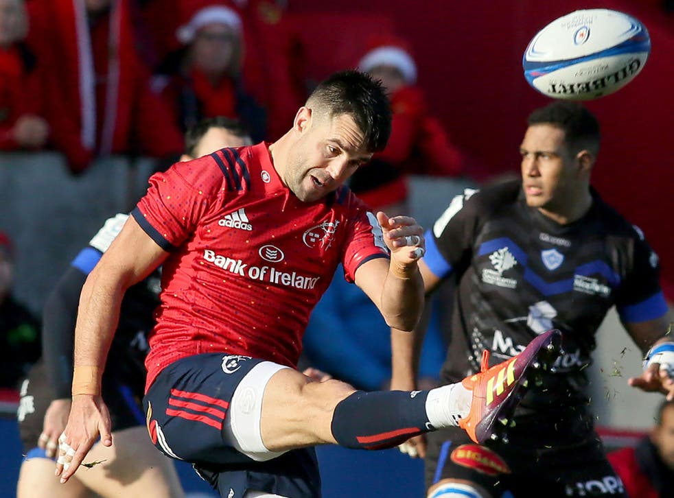 Conor Murray revealed that he was hurt by allegations he was serving a drugs ban while injured